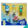 Play Set 5 Figuras Intensamente Inside Out Disney Collection