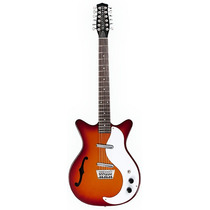 Guitarra Danelectro 12csb 12 Cuerdas Cherry Sunburst