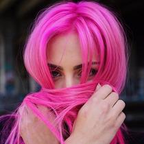 Tintas Para Cabelo Rosa / Pink Hair Style