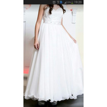 Vestido De Quince O De Novia Desmontable Impecable!!!!
