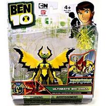 Figura Ben 10 Big Chill Alien Original - Jugueteria Aplausos