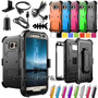Shockproof Rugged Armor Hybrid Hard Protective Case Cover