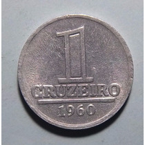 Brasil 1 Cruzeiro 1960 Excelente Km 570