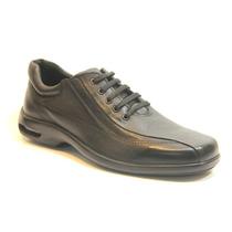 Zapatos Stork Man Cuero Negro - Alvaro - Camara De Aire