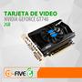 Tarjeta De Video 2gb Nvidia Geforce 740 Pci Express Ddr3