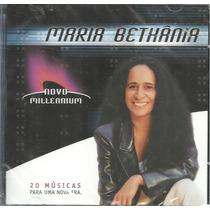 Cd Maria Bethãnia - Novo Millennium*lacrado/novo