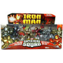 Marvel Hero Squad Iron Man Set X 4 Figuras