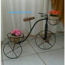 Bicicleta Floreira Ferro Grade Jardim
