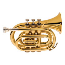 Trompete Pocket Com Case Tp520 L Eagle Laqueado