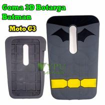 Funda Goma 3d Moto G3 Protector Botarga Batman Nuevo