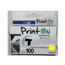 Cartucho Lexmark Generico 100 Amarillo 12,5 Ml Printon Nuev