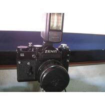 Maquina Fotografica Antiga Zenit 11 Lente Helios 44m4 58mm