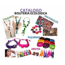 Collares, Pulseras, Aretes De Semillas Y Cascaras Naturales
