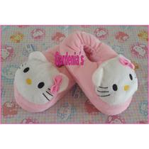 Pantuflas Hello Kitty Pequeñas Para Niñas