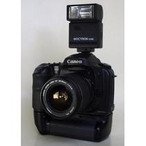 Cámara Canon 10d Con Lente Canon 28-90mm Flash Memoria Y Mas