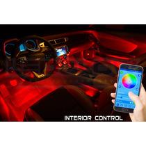 Kit Led Bluetooth Neon Bajo Piso Rgb Control X Celular Exter