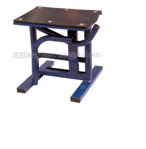 Banco soporte acero 250 kg con cubierta de goma azul o for Ofertas de empleo banco exterior