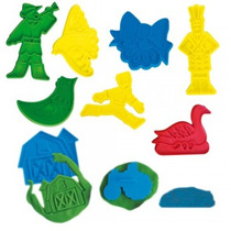 Cookie Cutter Cuentos O Granja Material Didactico