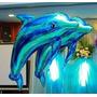 Globos Delfines Azul