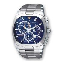 Relógio Citizen Cronógrafo An9000-53m Azul Original Em Sp