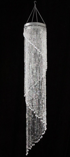 Chandelier spiral faux crystal beaded hanging light great id chandelier spiral faux crystal beaded hanging light great id aloadofball Choice Image