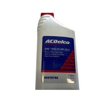 Óleo Acdelco Api Cg4 15w40 Mineral Diesel Genuíno Gm