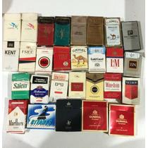 Lote 44 Marquillas Caja Cigarrillos Nacionales Importadas