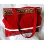 Cartera Bolso Morral Banderola Pana Bordo Shopping Bag 2