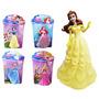 Super Kit Princesas Disney 5 Bonecas P/decoração Ou Brincar