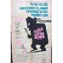 Afiche De Pelicula El Regreso De La Pantera Rosa Año 1975