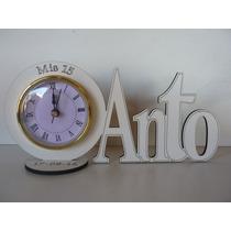 Souvenirs Reloj 15 Años, Aniversarios, Con Color Y Grabado