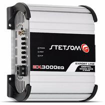 Módulo Stetsom Ex-3000 Eq Amplificador Até 3600w Digital 2k5