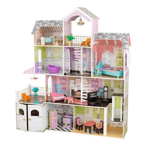 Kidcraft casita para mu ecas con accesorios 5 - Accesorios para casa de munecas ...