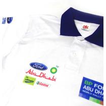 Camisa Pólo - Dry Fit Estampa Ford World Rally Team - Es025
