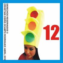 12 Sombreros Espuma Boda Fiesta Peluca Lentes Gorros Xv Dj