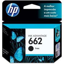 Hp 662 Preto Cz103ab Hp 1 Un Cartucho De Impressora