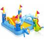 Piscina Inflável Infantil Plástico Bebe Criança Escorregador