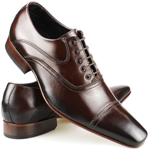 e0e2a2141 Sapato Social Masculino Estilo Italiano Couro Exclusivo Top - R  169 ...