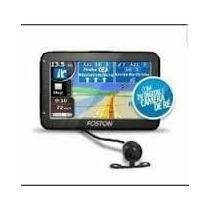 Gps Automotivo Foston 4.3 Tela- Tv Digital Com Camera Dê Re
