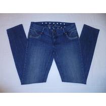 Jeans Skinny Jegging Oggi Mezclilla Stretch Azul Talla 11