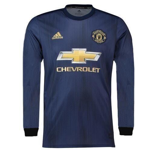 c382a605c Camisa Manchester United 3 Manga Longa 18 19 Frete Grátis - R  129 ...
