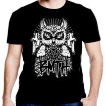 Camiseta Manga Curta Bring The Horizonte Coruja Ref-470