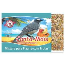 Alimento Ração Mistura P/ Pixarro Com Frutas Canta Mais 10kg