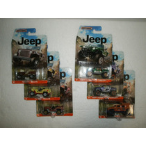 Matchbox Lote 6 Camionetas Jeep Hurricane Wrangler Willys