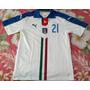 Camisa Seleção Itália Branca - Pirlo 21 Eurocopa 2016 Azurra