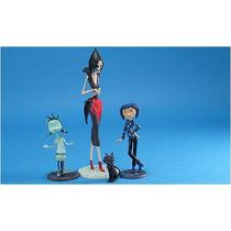Coraline Set De 4 Figuras. Muñecas.