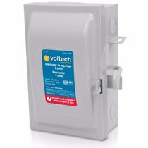 Interruptor De Seguridad De 2 Polos 30a 250v Voltech 46020