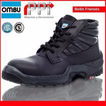 Botin Frances Ombu C/puntera Seguridad Certificado Moron