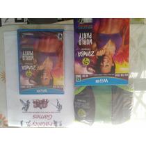 Jogo Zumba Fitness World Party Com Zumba Belt Nintendo Wiiu