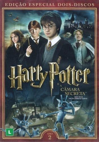 839d2d85f Dvd Harry Potter E A Câmara Secreta - (duplo) - Lacrado - R  17